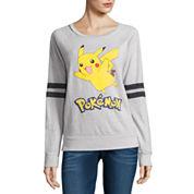Pokemon Burnout Sweatshirt- Juniors