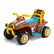 KidTrax Disney Jake & the Pirates 6V Toddler Quad Electric Ride-on