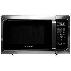 Farberware Classic 0.9 Cu. Ft. 900-Watt Stainless Steel Microwave Oven