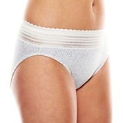 Warner's No Pinching, No Problems. High-Cut Lace Panties - 5109