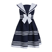 Bonnie Jean® Sailor Dress - Girls 7-16