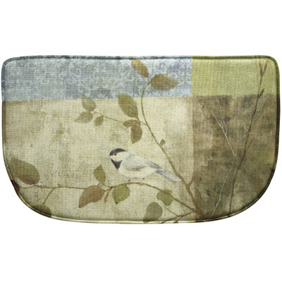 Bacova Chickadee Memory Foam Wedge Rug