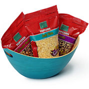 Wabash Valley Farms™ Bamboo Bowl and Popcorn Trio Set