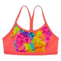 Xersion Performance Pattern Sports Bra - Girls' 7-16 and Plus
