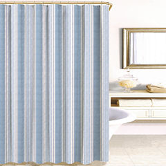 Savannah Stripe Shower Curtain