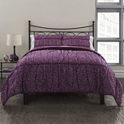 Republic Ruched Petite Flora Duvet Cover Set