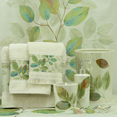 Bacova Waterfall Leaves Bath Collection