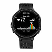 Garmin Forerunner 235 Mens Black Smart Watch-0100371754key