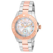 Invicta Womens Two Tone Bracelet Watch-17527