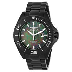 Invicta Mens Black Bracelet Watch-23070