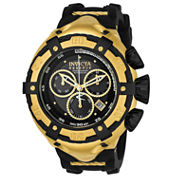 Invicta Mens Black Strap Watch-21353