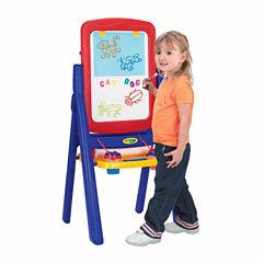 Grow'N Up Crayola Qwikflip 2-Sided Kids Easel