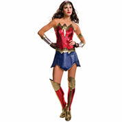 Batman V Superman Dawn Of Justice Wonder Woman 4-pc. DC Comics Dress Up Costume