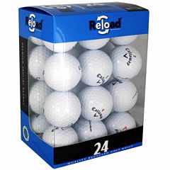 24 Pack of Callaway Recycled Golf Balls.