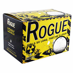 12 Pack Rogue Illegal Golf Balls.These NEW golf balls include 4 sleeves of 3 balls in each dozen pack.
