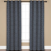 United Curtain Co. Mystique 2-Pack Rod-Pocket Curtain Panels