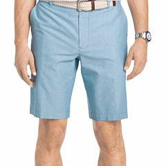 IZOD Flat Front Oxford Shorts