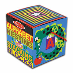Melissa & Doug® Alphabet Nesting and Stacking Blocks (UC)