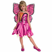 Barbie Mariposa Barbie 2-pc. Dress Up Costume