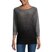 Alyx 3/4 Sleeve Boat Neck Pullover Sweater