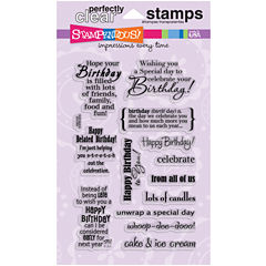 Stampendous Clear Scrapbook Stamps