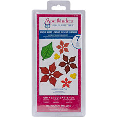 Spellbinders™ Shapeabilities® Layered Poinsettia 7-pc. Dies