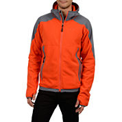 Champion® Hooded Pill-Resistant Microfleece Jacket