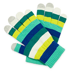 Mixit™ Striped Touch Tech Gloves