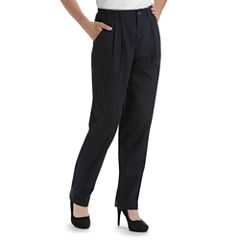 Lee® Side-Elastic Straight-Leg Twill Pants