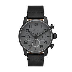 Relic Mens Black Strap Watch-Zr15887