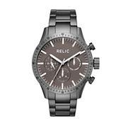 Relic Mens Gray Bracelet Watch-Zr15890