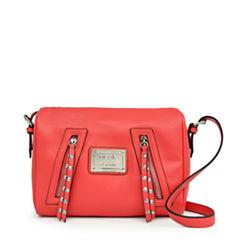 nicole By Nicole Miller Janelle Top Zip Crossbody Bag