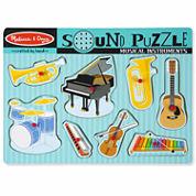 Melissa & Doug® Musical Instruments Sound Puzzle