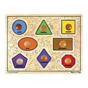 Melissa & Doug® Large Shapes Jumbo Knob Puzzle