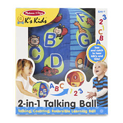 Melissa & Doug® 2 in 1 Talking Ball