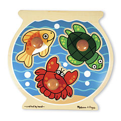 Melissa & Doug® Fish Bowl Jumbo Knob Puzzle