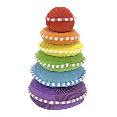 Melissa & Doug® Rainbow Stacker - Plush