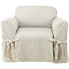 SURE FIT® Ticking Stripe 1-pc. Chair Slipcover