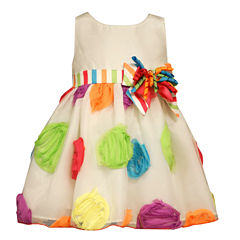 Bonnie Jean Sleeveless Party Dress - Toddler Girls