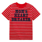 Okie Dokie Boys Short Sleeve T-Shirt-Toddler