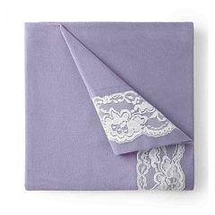 Micro flannel® Lace Edge Sheet Set