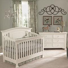 Muniré Furniture Medford 4 IN 1 Convertible Crib - White
