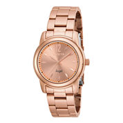 Invicta® Angel Womens Rose-Tone Stainless Steel Watch 17421