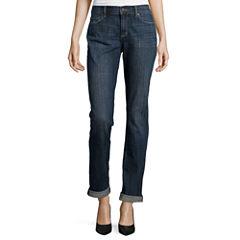 Liz Claiborne® City-Fit Boyfriend Skinny Jeans - Tall