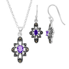 Sparkle Allure Le Vieux Marcasite Jewelry Set