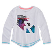 Reebok Girls Graphic T-Shirt-Toddler