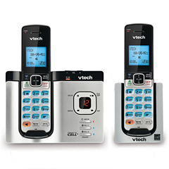 VTech DS6621-2 DECT 6.0 2-Handset Connect to Cell Answering System with Caller ID/Call Waiting
