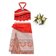 Disney Girls Moana Dress Up Costume-Big Kid