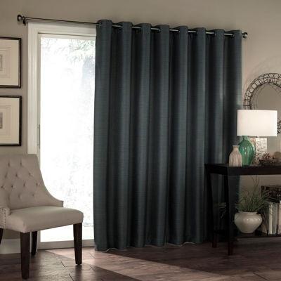 Eclipse Blackout Grommet Top Patio Door Curtain