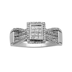 ½ CT. T.W. Diamond Bridal Ring